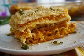 cuisine butternut dina dishes butternut squash goat cheese lasagna recipe sand