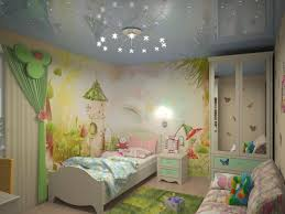 dessin mural chambre fille fresque murale dans la chambre d enfant 37 dessins joviaux