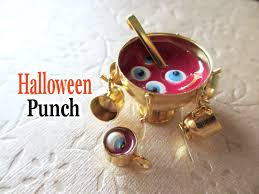 halloween eyeball punch miniature tutorial youtube