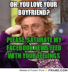 Funny Wonka Memes - oh you love your boyfriend willy wonka meme generator