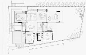 open modern floor plans floor plan of modern house with many open areas home