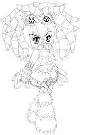 10 images of gothic vampire coloring pages gothic anime