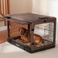 Two Door Garage by The Other Door Crate With Bolster Pad Dog Travel Crates