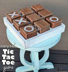 Woodworking Plans For Small Tables by Oversized Tic Tac Toe Game Tic Tac Toe Game Tic Tac Toe And
