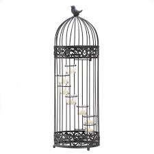 Wholesale Gifts And Home Decor Wholesale Wrought Iron Bird Cage Candle Holder Birdcage Staircase