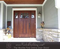 Shaker Style Exterior Doors Beautiful Shaker Door 3 The Ac601 With Ac201 Sidelites Clear