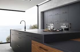 cuisine noir mat enchanteur cuisine mat avec collection avec cuisine mat
