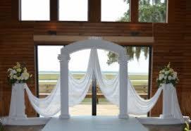 wedding arch rental jacksonville fl columns arch simply wedding rentals jacksonville