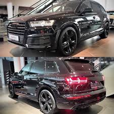 Audi Q7 Black Edition - ever wandered how a newq7 darthvader edition would look like