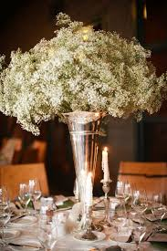 Black And Silver Centerpieces by Melissa Squires Morris Dowdle Baby U0027s Breath Centerpiece Spray