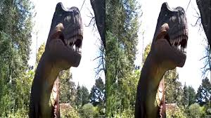 3d t rex at seattle u0027s woodland park zoo youtube