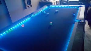 led pool table light led pool table light panel upgrades cool pic orig pool design