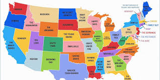 52 states of america list this map shows the most popular tv show set in every state tvs