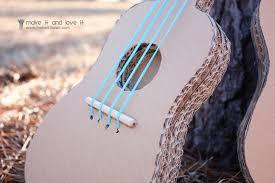 the u0027mister make it and love it u0027 series cardboard guitars make