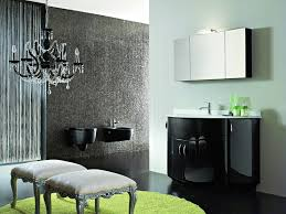 black white and red bathroom decorating ideas modern gray ceramic