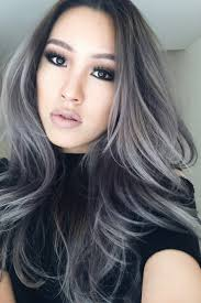 grey hairstyles for young women hairstyle grey hair gray color shades shoo for reviews