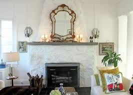 i need help for my ugly stone fireplace can i paint it stone