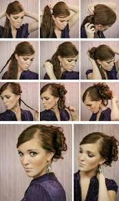 Hochsteckkurzhaarfrisuren Selbst Gemacht by Hochsteckfrisuren Selber Machen Lange Haare Asktoronto Info