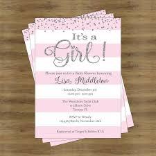 baby girl invitations girl baby shower invitations best 25 ba shower invites for girl