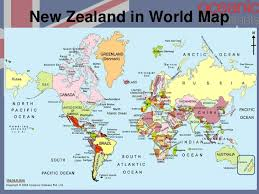 map world nz new zealand for student visa