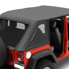 jeep soft top black bestop trektop classic complete replacement soft top