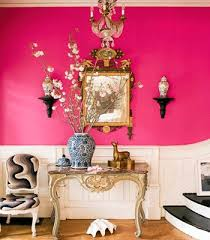 modern color honeysuckle pink color decorating