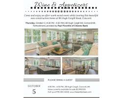 tour a new construction home in concord thursday october 5