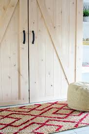 Sliding Barn Door Kits Our Diy Sliding Barn Doors Tutorial Four Generations One Roof