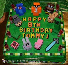 mindcraft cakes 30 coolest minecraft cakes for birthday