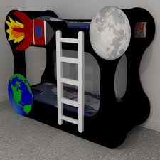 Space Bunk Beds Space Themed Funky Bunk Beds Furniture Makers Kent Roo