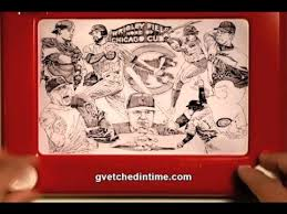 chicago cubs etch a sketch the fall classic youtube
