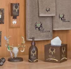 Bear Bathroom Accessories by Bathroom Deer Shower Curtains Browning Bathroom Set Fishing