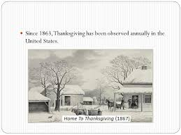 thanksgiving day western folk customs thanksgiving or