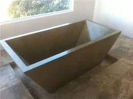 best 25 concrete bathtub ideas on concrete bathroom