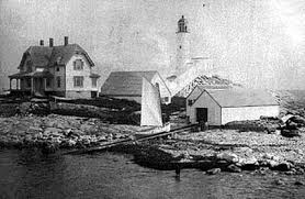 White Island Light White Island Light History New England Lighthouses A Virtual Guide