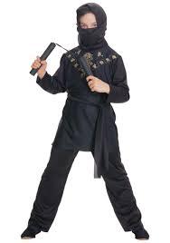 Halloween Ninja Costumes Fade Kids Ninja Costume Buycostumes Boys Red Skull