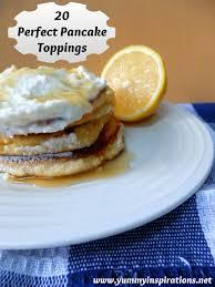 pan cake topper 20 pancake toppings