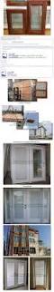 aluminum clad wood casement window built in blinds integral