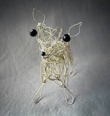 137 best whimsical wire animal sculpture images on