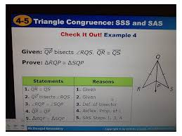 showme unit 4 test review triangle congruence