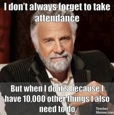 Submit Meme - attendance issues