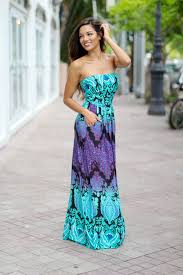 aqua and purple strapless maxi dress maxi dresses u2013 saved by the