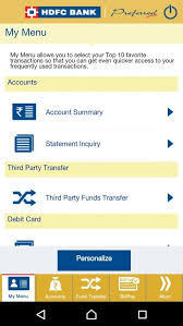 Card One Banking Business Account How Does Hdfc U0027s U0027quick Access Pin U0027 Feature On The Mobile