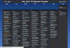 Home Design Tv Shows Us How To Set Up A Personalised Television Calendar