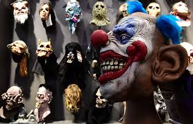 halloween mask store tom clark happiness trigger
