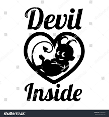 cartoon little devil imp halloween vector stock vector 333065999