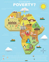 africa map 2014 where s poverty africa map on behance