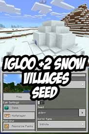 how to write on paper in minecraft pe best 25 easy minecraft houses ideas on pinterest minecraft mcpe igloo 2 villages at spawn seed seed gxbrr