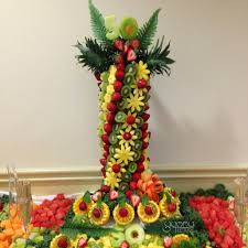 fruit displays fruit display for an amazing s 50th birthday yummytecture