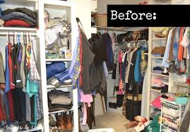 new how to organize a small closet before and after thraam com